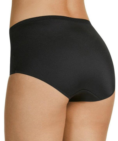 Berlei Lift & Shape Mesh Full Brief - Black - Back
