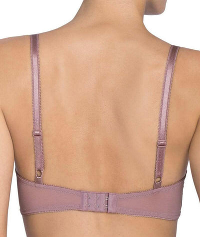 Triumph Amourette Spotlight Balconette T-Shirt Bra - Brown - Light Combination - Back