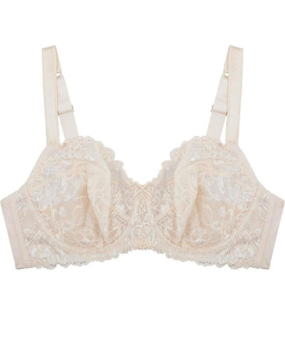 Fayreform Olive Lace Underwire Bra - Pink Champagne/Ivory