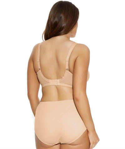 Elomi Amelia Underwired Bandless Spacer Bra - Nude - Model - Back