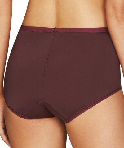 Fayreform Everyday Classic Full Brief - Windsor Wine - Back