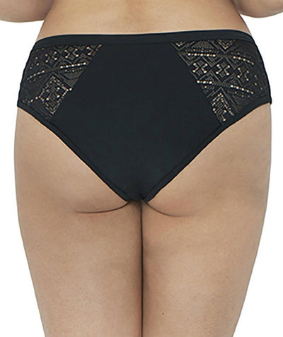 Curvy Kate Rush Mini Bikini Brief - Black - Back