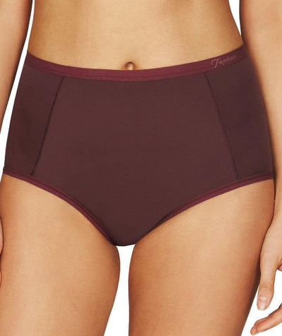 Fayreform Everyday Classic Full Brief - Windsor Wine - Front