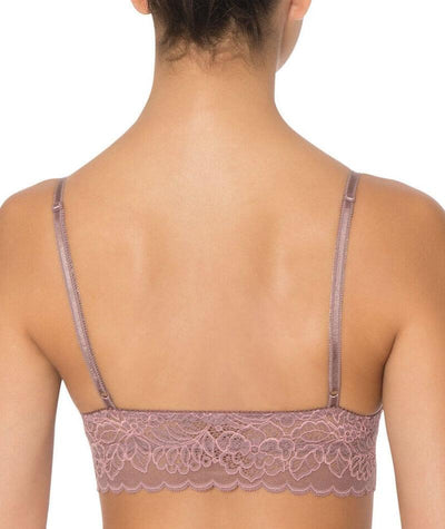 Triumph Amourette Wirefree Bralette - Brown - Light Combination - Back