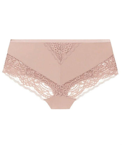 Ava & Audrey Sienna Lace Hipster Brief - Rose - Back