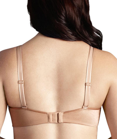 Berlei Lift and Shape T-Shirt Underwire Bra - Pearl Nude - Back