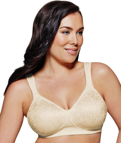 Playtex 18 Hour Ultimate Lift & Support Wirefree Bra - Nude - Front