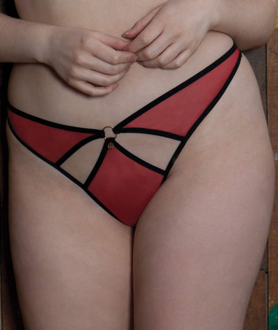 Scantilly Knock Out Thong - Red