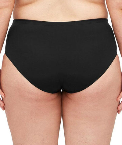 Artesands Control Mid Rise Basic Brief - Black - Back