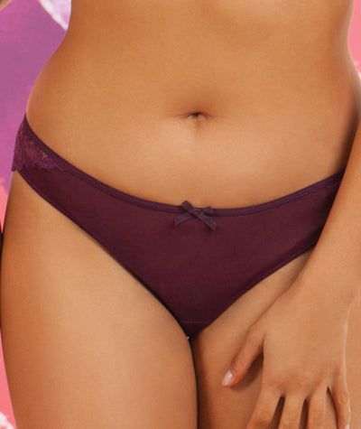 Curvy Kate Ellace Brazilian - Mulberry