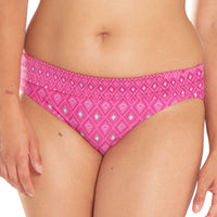 Curvy Kate Revive Fold-Over Brief - Pink Print