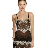 Wacoal Embrace Lace DD-E Cup Chemise Dress - Black