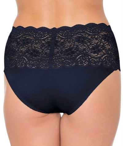 Triumph Amourette Maxi Brief - Navy - Back