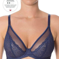 Triumph Sheer Minimizer Bra - Deep Water