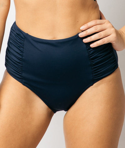 "Nip Tuck Gathered Side High Waist Brief Plains ""Front"""