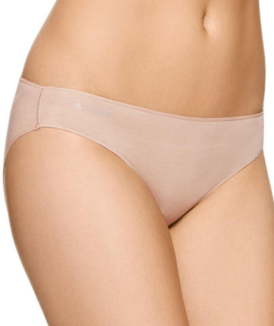 Jockey No Panty Line Promise Next Generation Cotton Bikini - Silk Beige