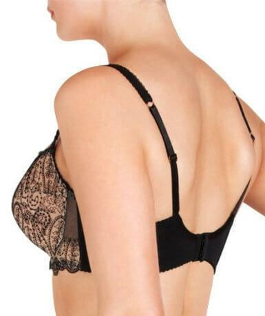 Fayreform Candid Balconnet Bra - Black - Back