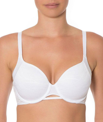 Triumph Airy Sensation Spacer T-shirt Bra - White - Front