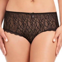 Fayreform Alessia Rose Culotte Brief - Black