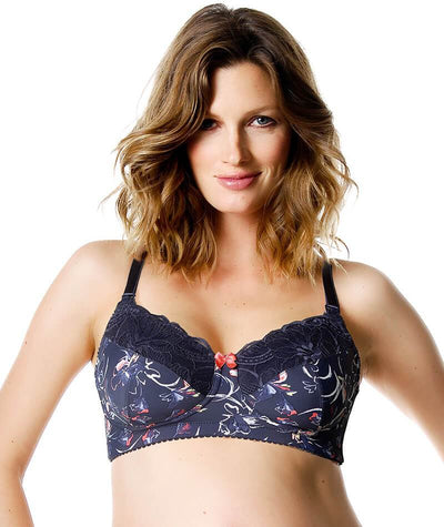"Hotmilk Show Off Enigma Maternity and Nursing Bra ""Front"""
