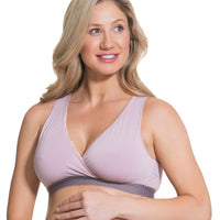 Cake Maternity Milk Bamboo Sleep & Nursing Bra -  Mauve