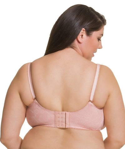 Cake Maternity Tea Wireless Soft Cup Nursing Bra -  Blush