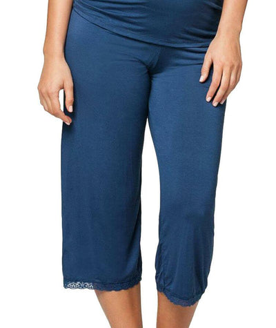 Cake Maternity Blue Berry Torte Lounge Pant - Blue
