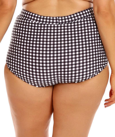 Capriosca Ruched Skirted Pant - Retro Check