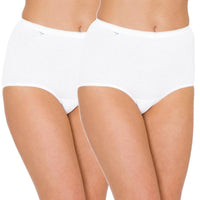 Sloggi Maxi Brief 2 Pack - White