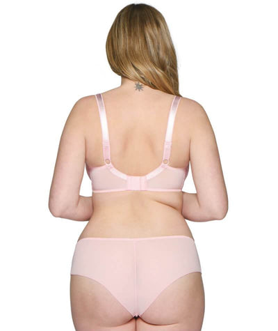 Curvy Kate Dottie Balcony Bra - Pink Lady
