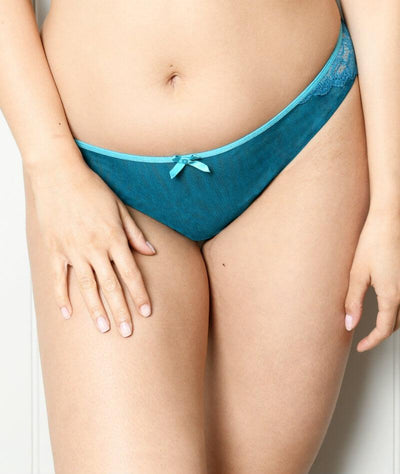 Curvy Kate Ellace Brazilian - Teal