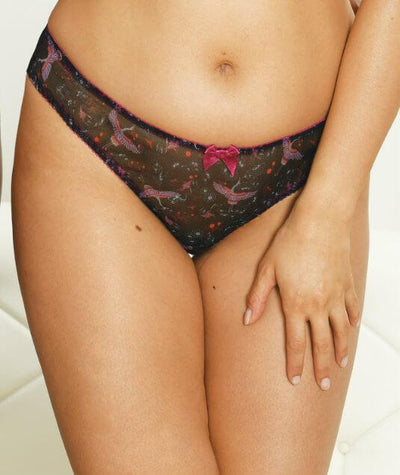 Curvy Kate Kimono Brazilian Brief - Print Mix