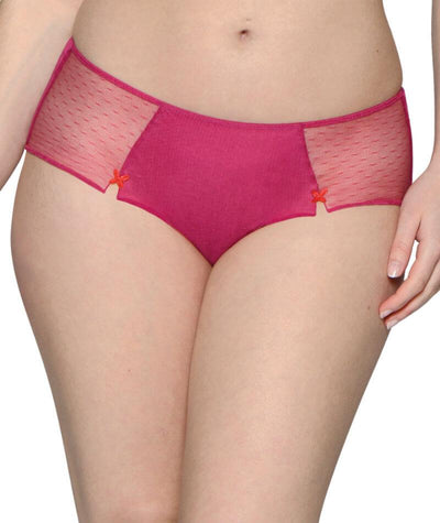 Curvy Kate Kiss Cross Short - Pink/Red