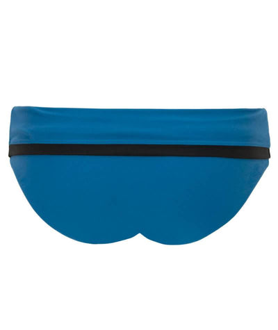 Curvy Kate Rock The Pool Foldover Brief - Petrol Blue