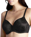 Berlei Lift and Shape T-Shirt Underwire Bra - Black - Side