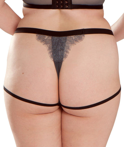 Scantilly Captivate Thong - Slate