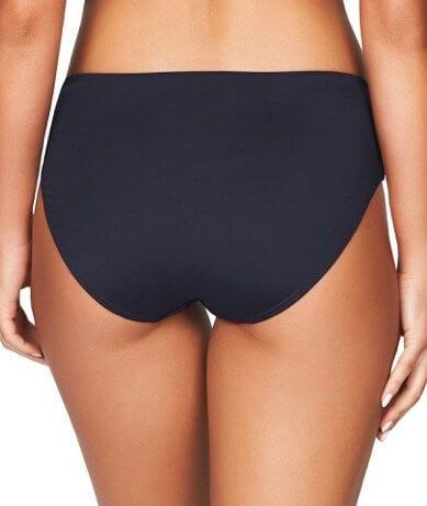 Sea Level Plains Mid Bikini Brief - Night Sky Navy - Back