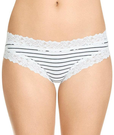 Jockey Parisienne Cotton Bikini Brief - Classic Bretton Stripe - Front