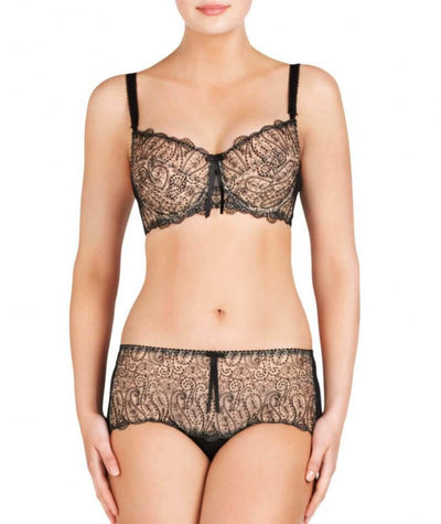 Fayreform Candid Balconnet Bra - Black - Model - Front