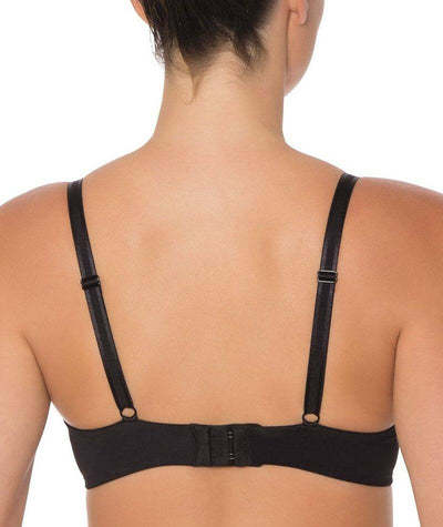 Triumph Sheer Balconette Bra - Black - Back