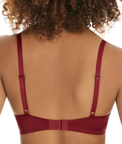 Berlei Womankind T-Shirt Spacer Bra - Sinful Red - Back