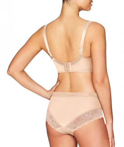 Fayreform The Perfect Form High Cut Brief - Latte - Model - Back