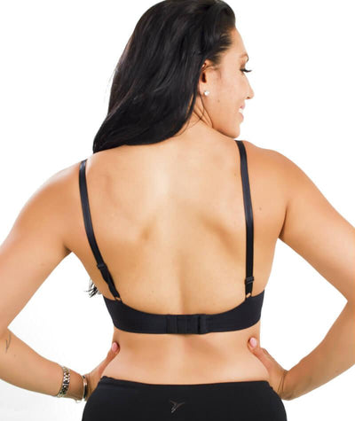 Triumph Sheer Balconette Bra - Black - Back - 2
