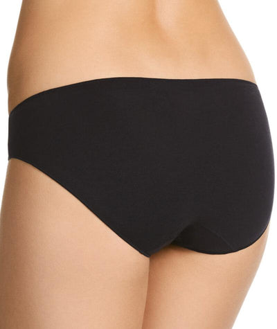 Jockey No Panty Line Promise Bamboo Natural Bikini - Black