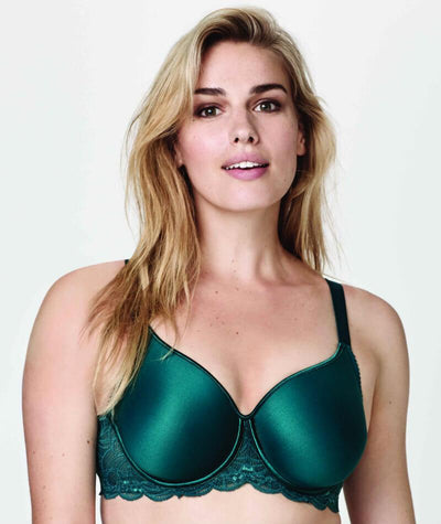 Fayreform Lace Perfect Contour Spacer Bra - Shaded Spruce