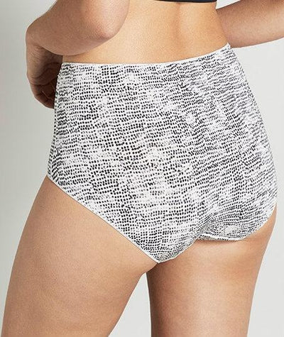 Jockey No Panty Line Promise Full Brief - Speckled Markings - Back