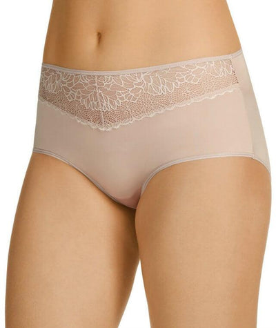 Berlei Luxury Lace Full Brief - Nude Lace - Side