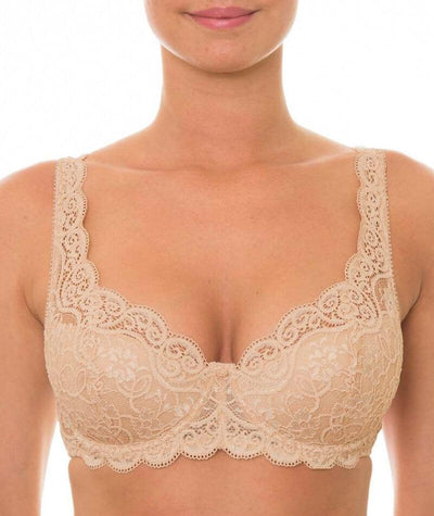Triumph Amourette Padded Bra - Skin - Front