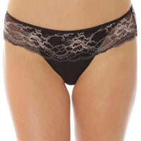 Florale Primrose Hipster Brief - Black