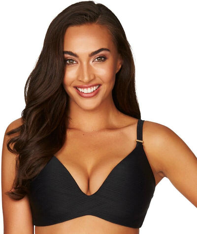 Sea Level Majorca D Cup Wireless Bikini Top - Black